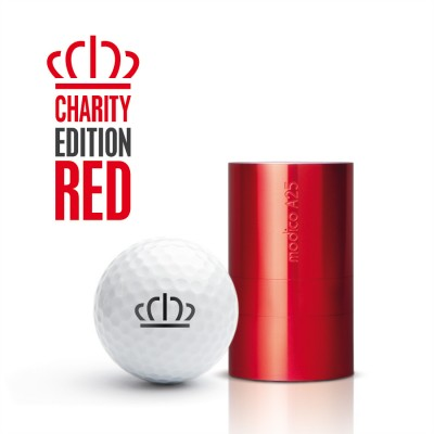 Charity Edition Red AG25 with individual imprint