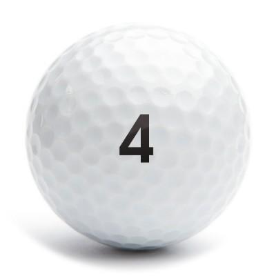 Golfballstamp A12 number 04
