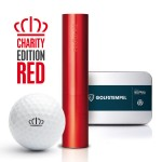 Gift box golfstamp AG12 Charity Edition Red with voucher