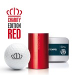 Gift box golfstamp AG25 Charity Edition Red with voucher
