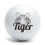 Golf ball stamp A25 motiv Tiger 2
